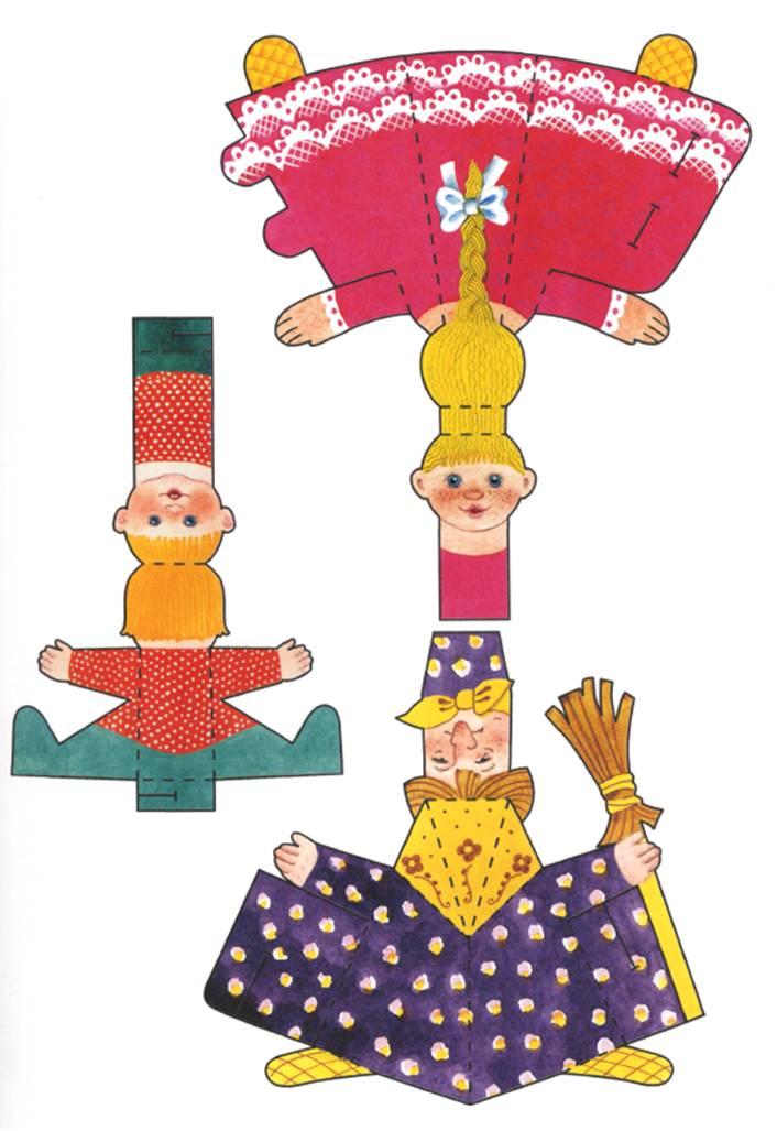 Кукольный театр гуси лебеди своими руками 94
