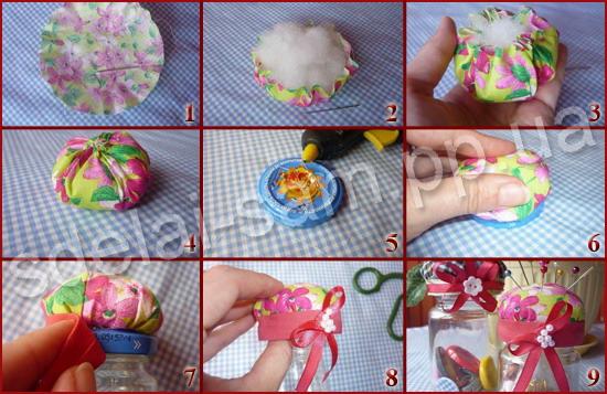 Как сделать игольница своими руками фото