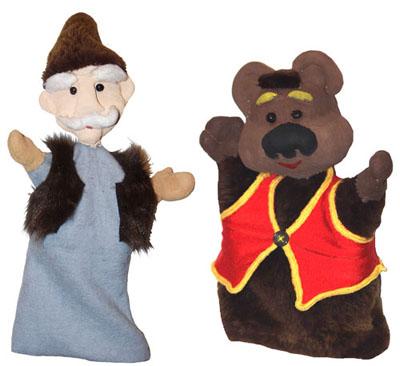 Перчатки для кукольного театра своими руками