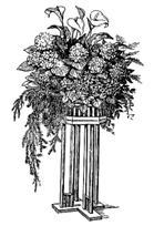 Рис. 3. Столик для цветов