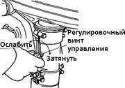 как отрегулировать холостой ход на лодочном моторе