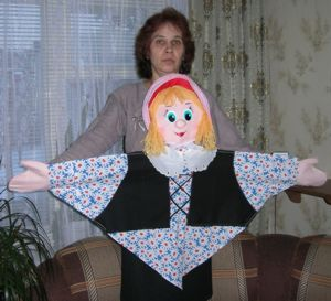 Театральная кукла своими руками