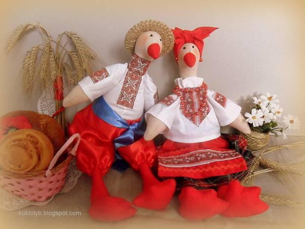 Тильда в русском народном костюме мастер класс