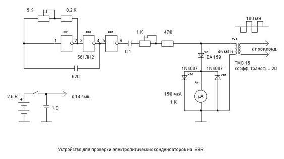 проверки электролитических