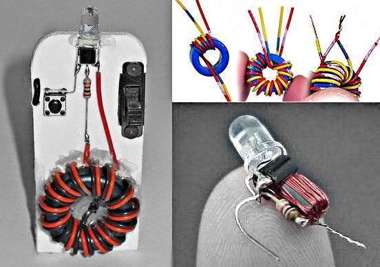 Как сделать фонарик своими руками на аккумуляторе