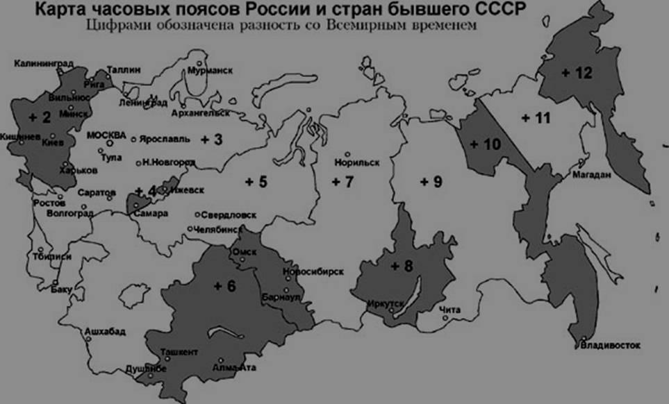 В госдуме предлагают ввести в россии новый часовой пояс :: noname