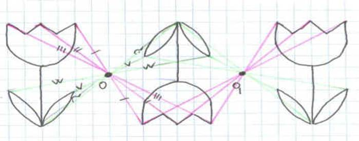 Как сделать симметричный рисунок