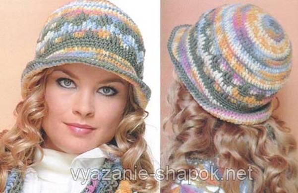 Puretancom вязание крючком для женщинвязаные шапкишарфы