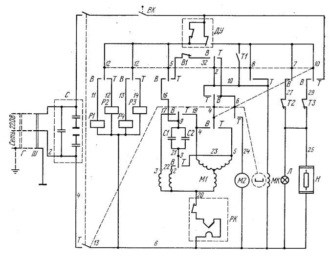 Двигатель от вятки схема подключения