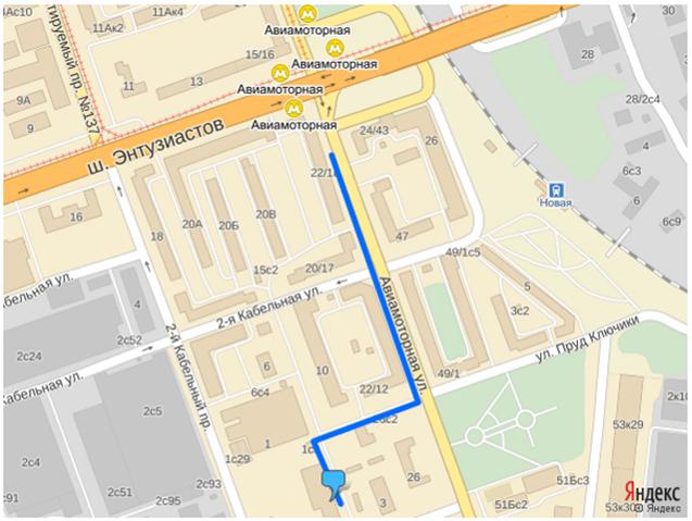 Схема проезда Погодинская ул.,