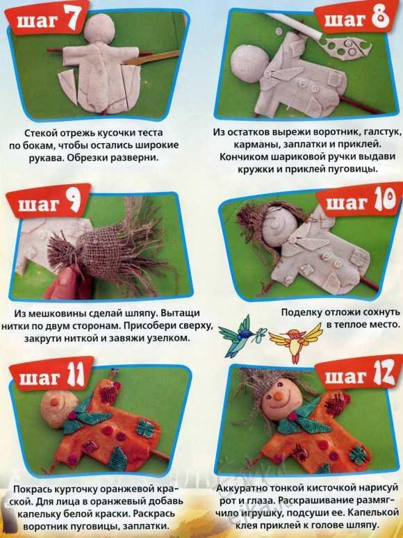 Поделки из соленого теста своими руками инструкция