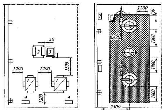 Рисунок 5 - Схема расположения