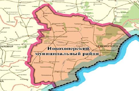 части Воронежской области,