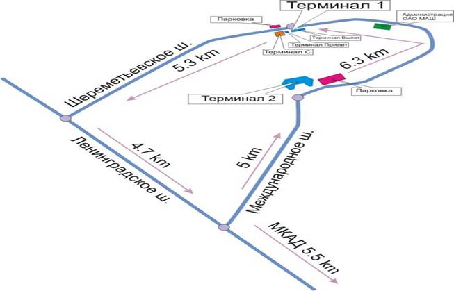 Терминал d аэропорта шереметьево схема проезда на машине