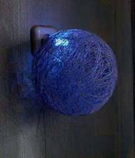 Абажуры из нитяных шаров