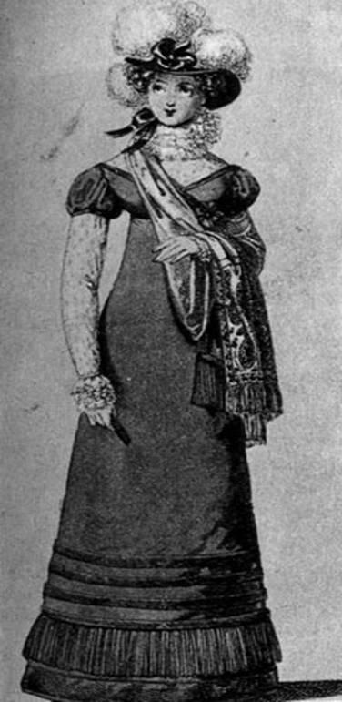 Шляпа страус.перья, выход.платье 1819.jpg