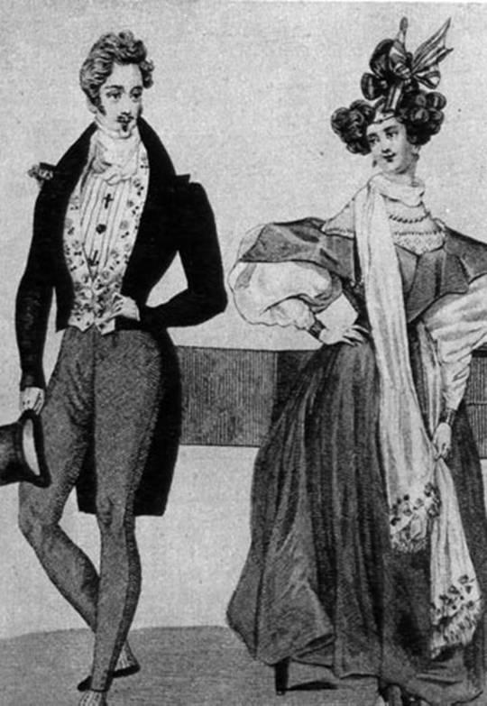 1831 Вечерний фрак дамское платье.jpg