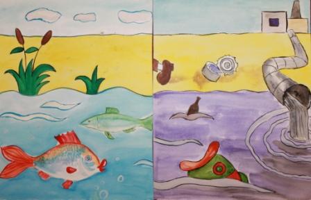 рисунки как нужно беречь воду