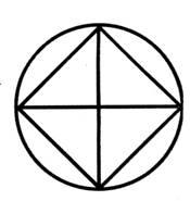 Загадка нарисовать круг не отрывая