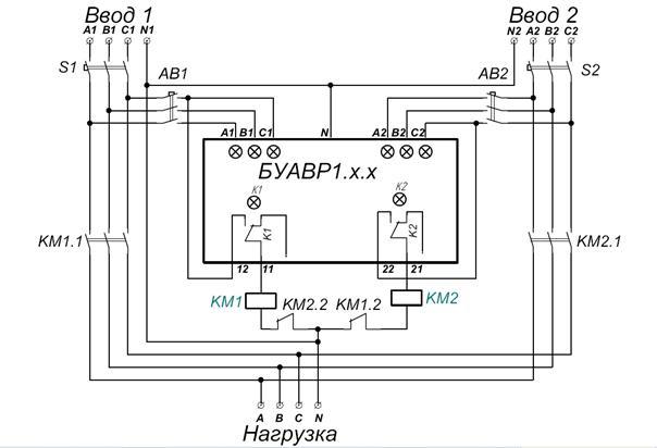 Альтернативная схема АВР-200