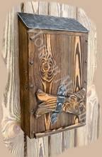 Почтовый ящик из дерева своими руками