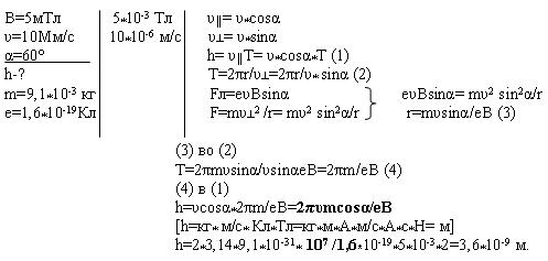 Задачи на силу лоренца с решением егэ решение задач на свойства параллелепипеда