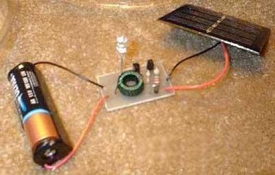 Солнечная батарея для фонаря своими руками 434