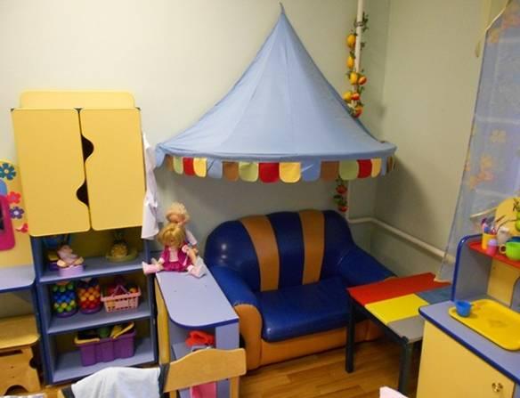 Уголок детского сада