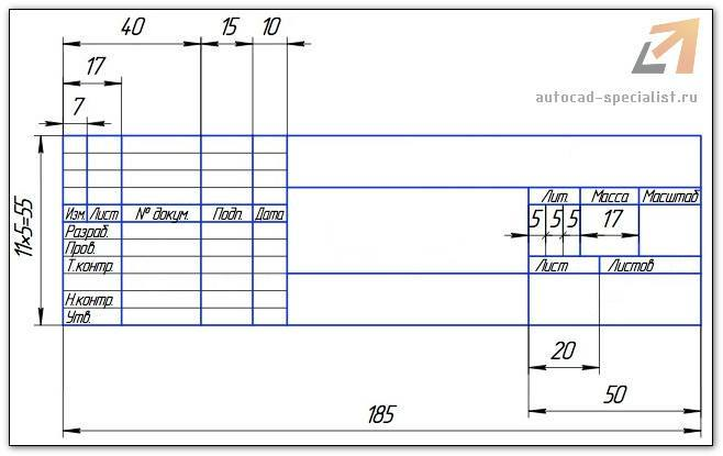 Автокад как сделать штамп и рамку - Simvol-goroda.ru