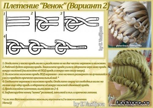 Плетение французских кос картинки