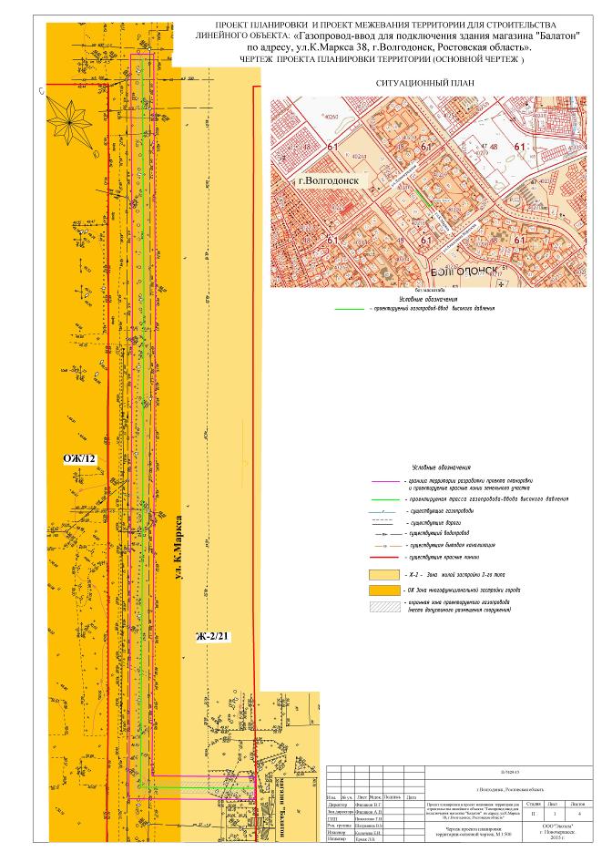 Линейный объект газопровод собственность