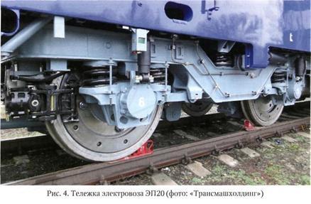 Колесно моторный блок поезда