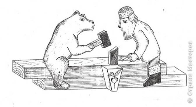 богородская игрушка картинки для раскрашивания этой книге изучают