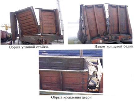 Отчет по производственной практике Авторская платформа ru Рисунок 5 2 Обрыв сварного шва соединения стойки с обвязкой или балкой рамы