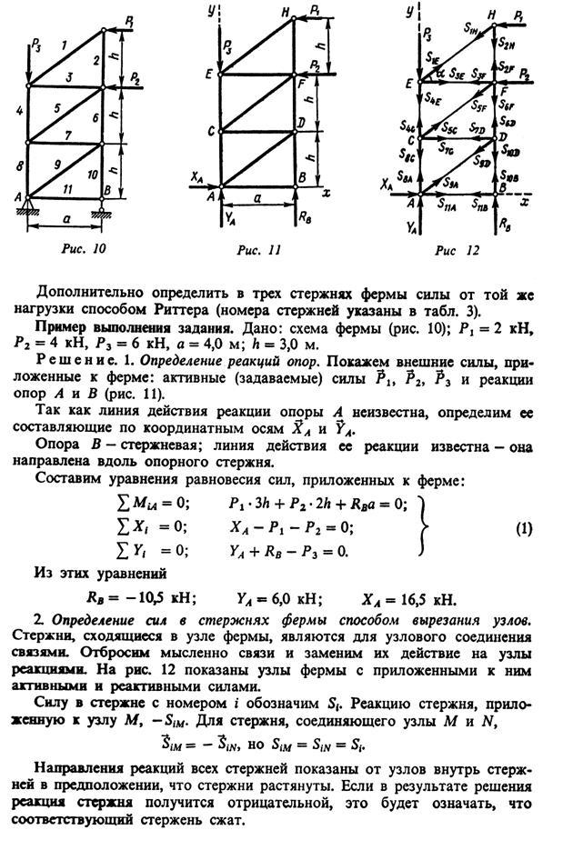Пример решение задач методом риттера решите задачу подсчитано что