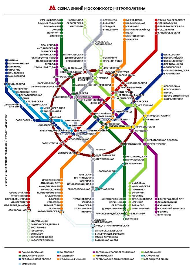 Электрозаводская метро на схеме метро 2017
