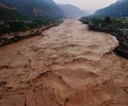 Уникальная река мира - Река с очень мутной водой - Хуанхэ