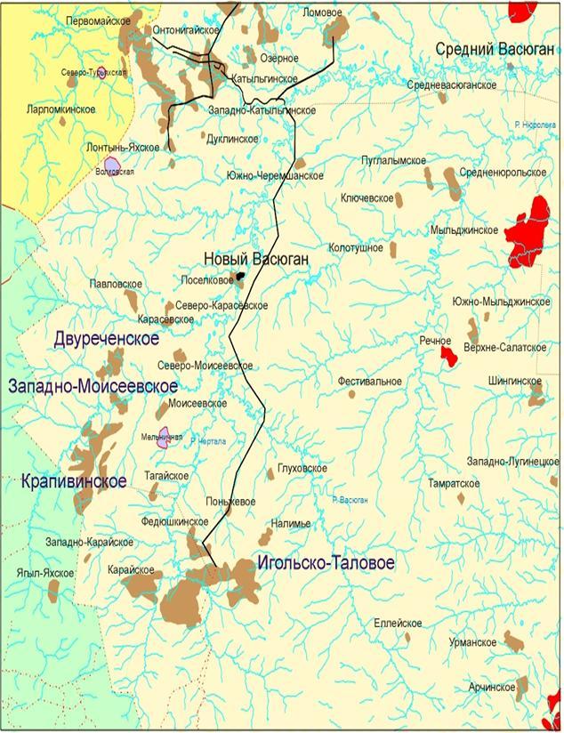 фото останинского месторождения томской области