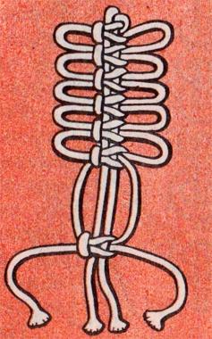 Плести квадратный узел