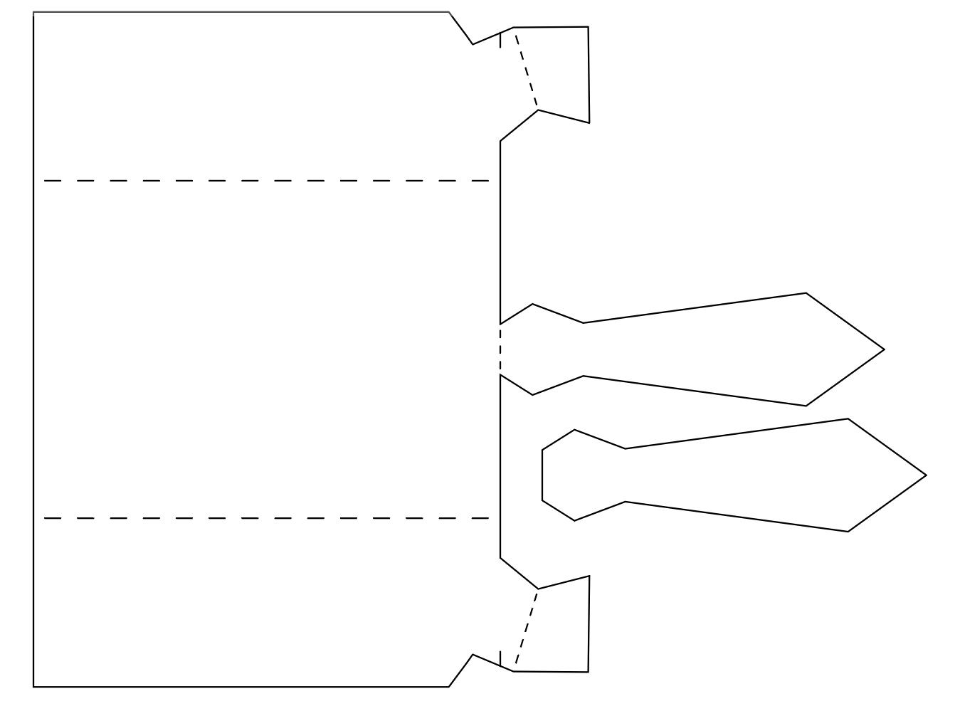 Открытки из бумаги рубашки