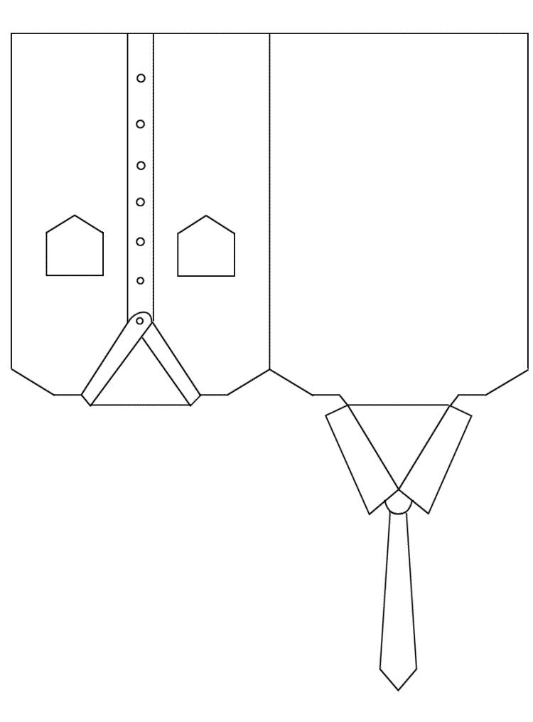 Розами, открытки рубашка на 23 февраля своими руками с шаблонами