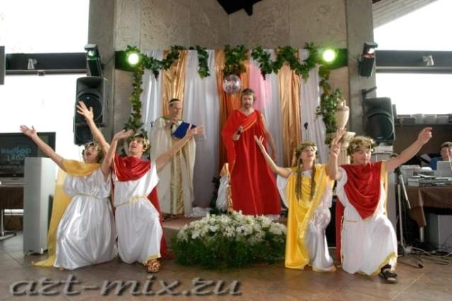 Поздравления от греческих богов на свадьбе
