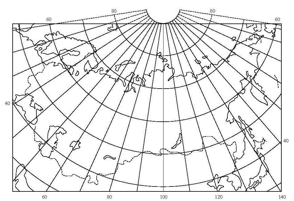 Карта мира картинка с меридианами данной позиции