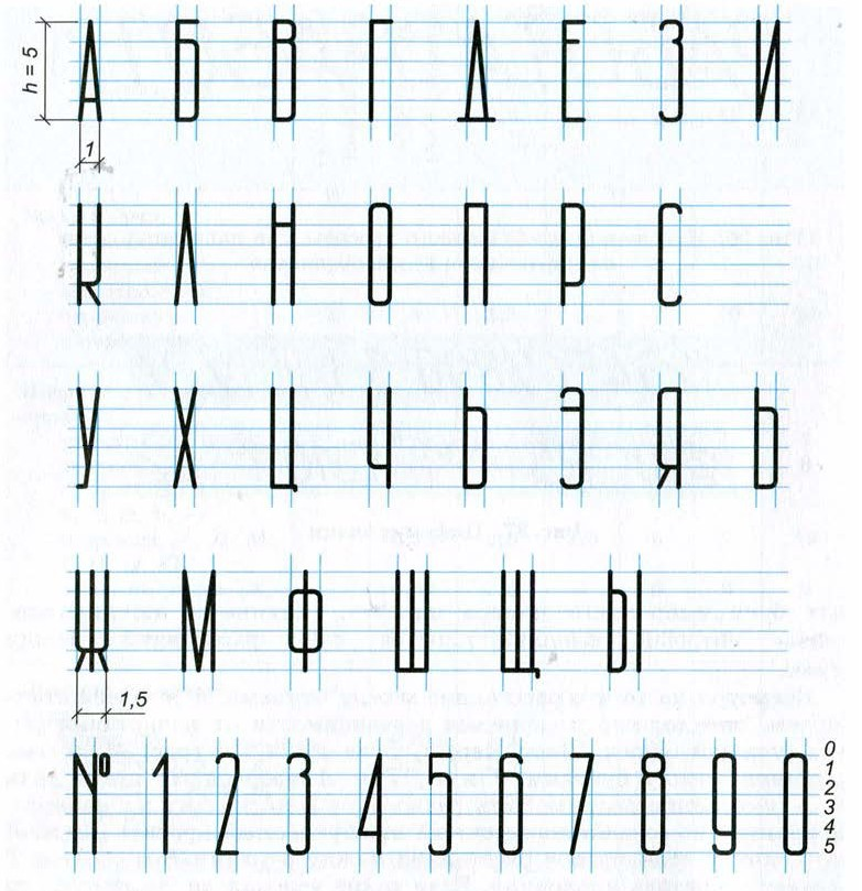 Узкий тонкий шрифт — photo 11