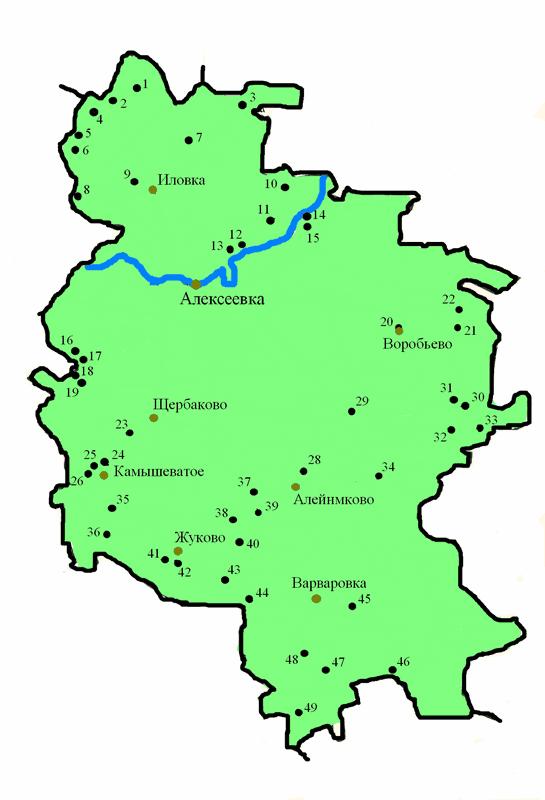 картинка карты алексеевского района реабилитации после мезотерапии