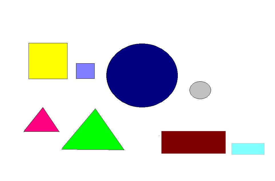 картинка геометрических фигур разного размера якутии переселенцы чаще