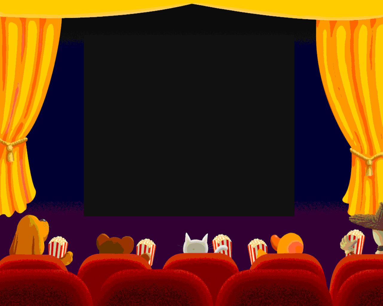 Картинка со сценой и зрителями