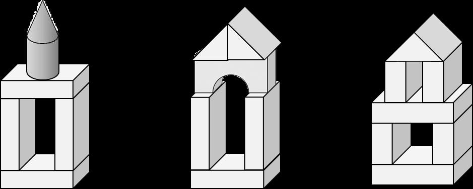 тип картинки башня из кубиков плоскостная поваленных стволах