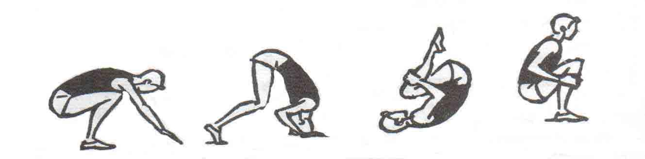 перекаты в акробатике картинки узнать список