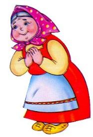 Картинка бабки из колобка